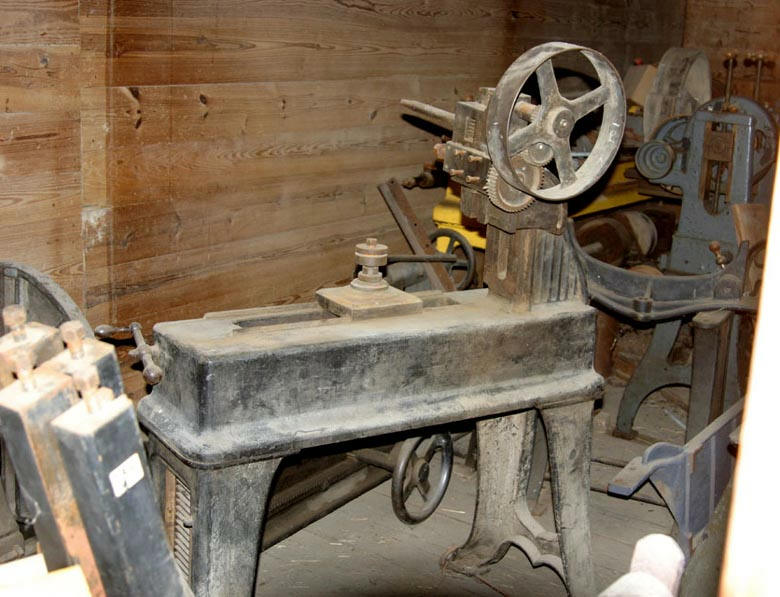 My 1890 gear cutting machine from Kanas